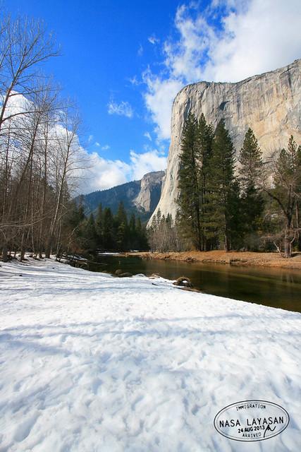 El Capitan granite face, Yosemite National Park, California, USA