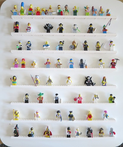 Iron Craft '14 Challenge #12 - Lego Minifig Wall Display