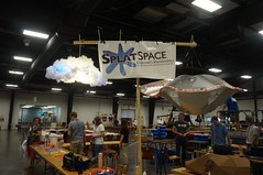 Splatspace at Makerfaire, 2014