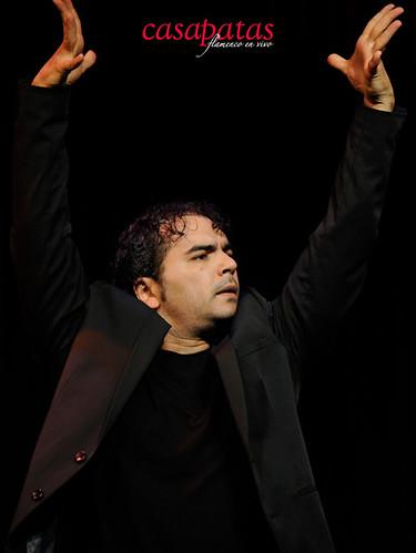 El bailaor Pedro Córdoba. Foto: Martín Guerrero