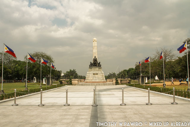 Asia - Philippines - Manila - Rizal Park - Rizal Monument (1)