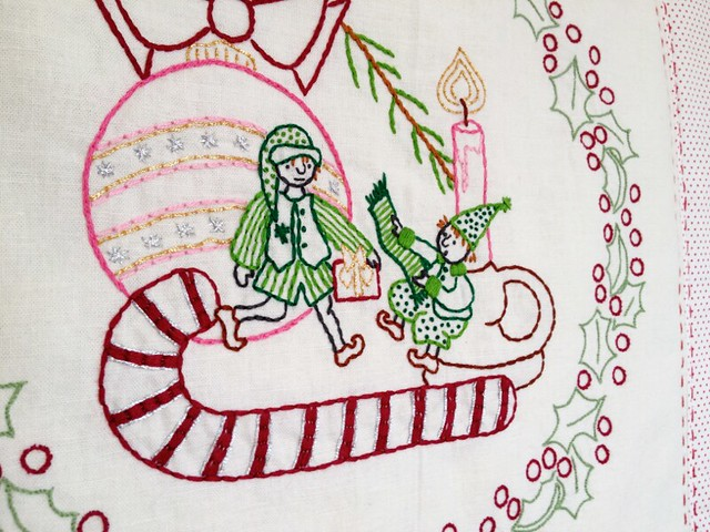 The Little Elves - Little Dorrit & Co. Embroidery Pattern - In the shop now!