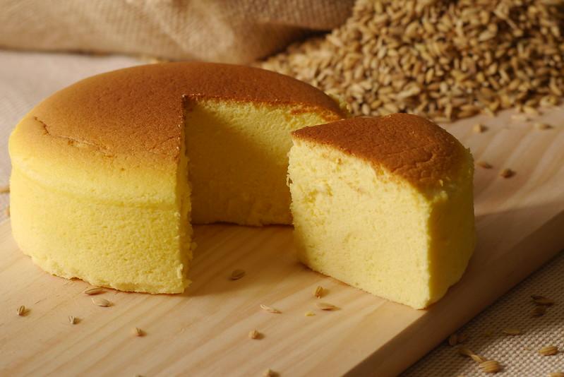 輕乳酪玄米蛋糕