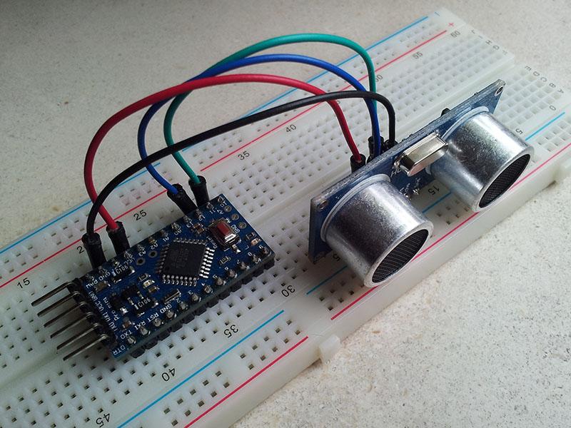 Ultrasoon sensor hc sr arduinows