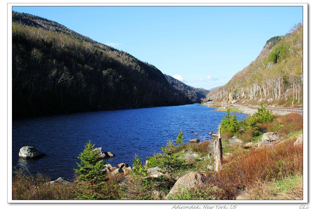 春遊紐約上州Adirondack州立公園, 攀登Giant山