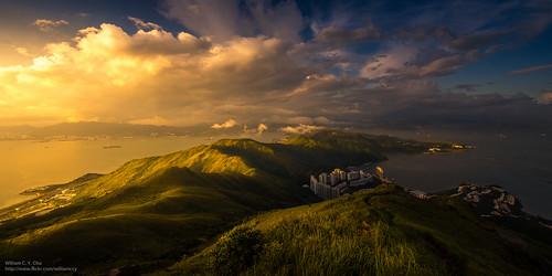 sunset hongkong dusk 香港 discoverybay 日落 lantauisland lantau 愉景灣 tigerhead 大嶼山 老虎頭 lofutau
