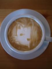 Today's latte, Secret.