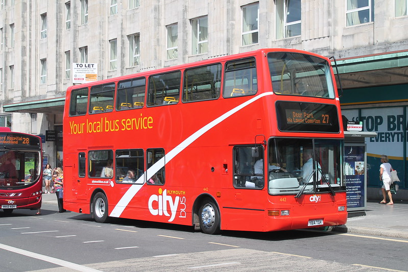 Plymouth Citybus 442
