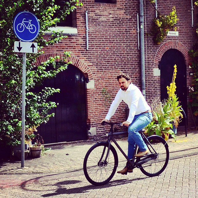 taco founder and CEO of Vanmoof Dutch bike company