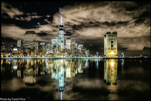 city nyc travel vacation skyline night manhattan explore hdr 1wtc