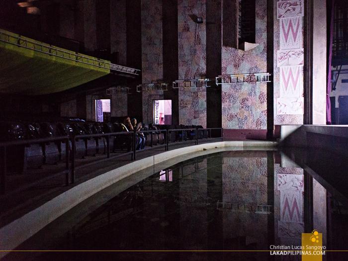 Manila Metropolitan Theater Stage Area