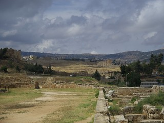 Hippodrome の画像. jordan jerash