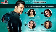 Answer questions and win a Movie Tickets of Kick