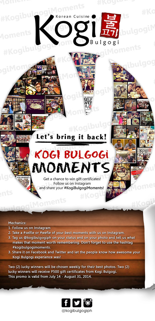 KOGI MOMENTS table talker