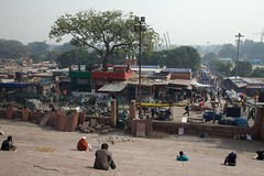 From the Steps of the Jama Masjid