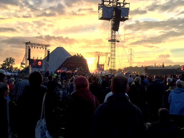 Elbow at the Pyramid Stage