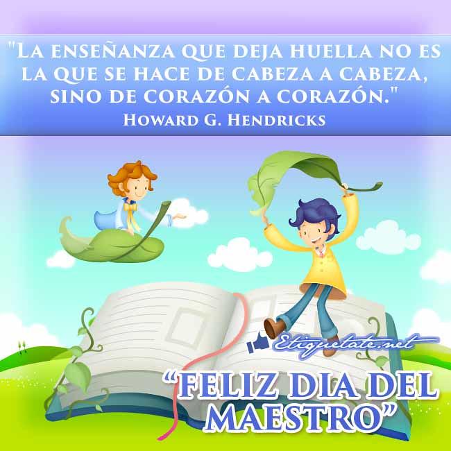 Postales Alusivas Al Dia Del Maestro Con Frases Motivacion