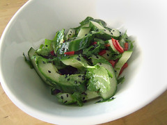 Cucumber and Poppy Seed Salad