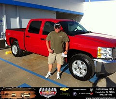 #HappyAnniversary to Buddy Alexander on your 2013 #Chevrolet #Silverado 1500 from Mark Havens at Four Stars Auto Ranch!