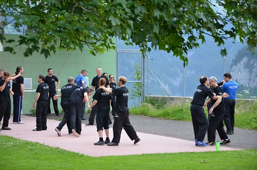 Krav Maga Self Protect Spezial Workshop Mürren 2014