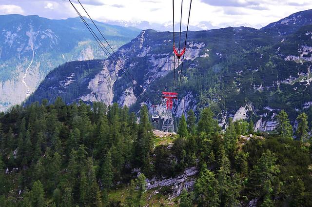 Cable Car, Krippenstein, Austria