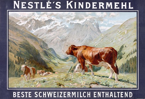 A German advert for Nestlé's children's milk product