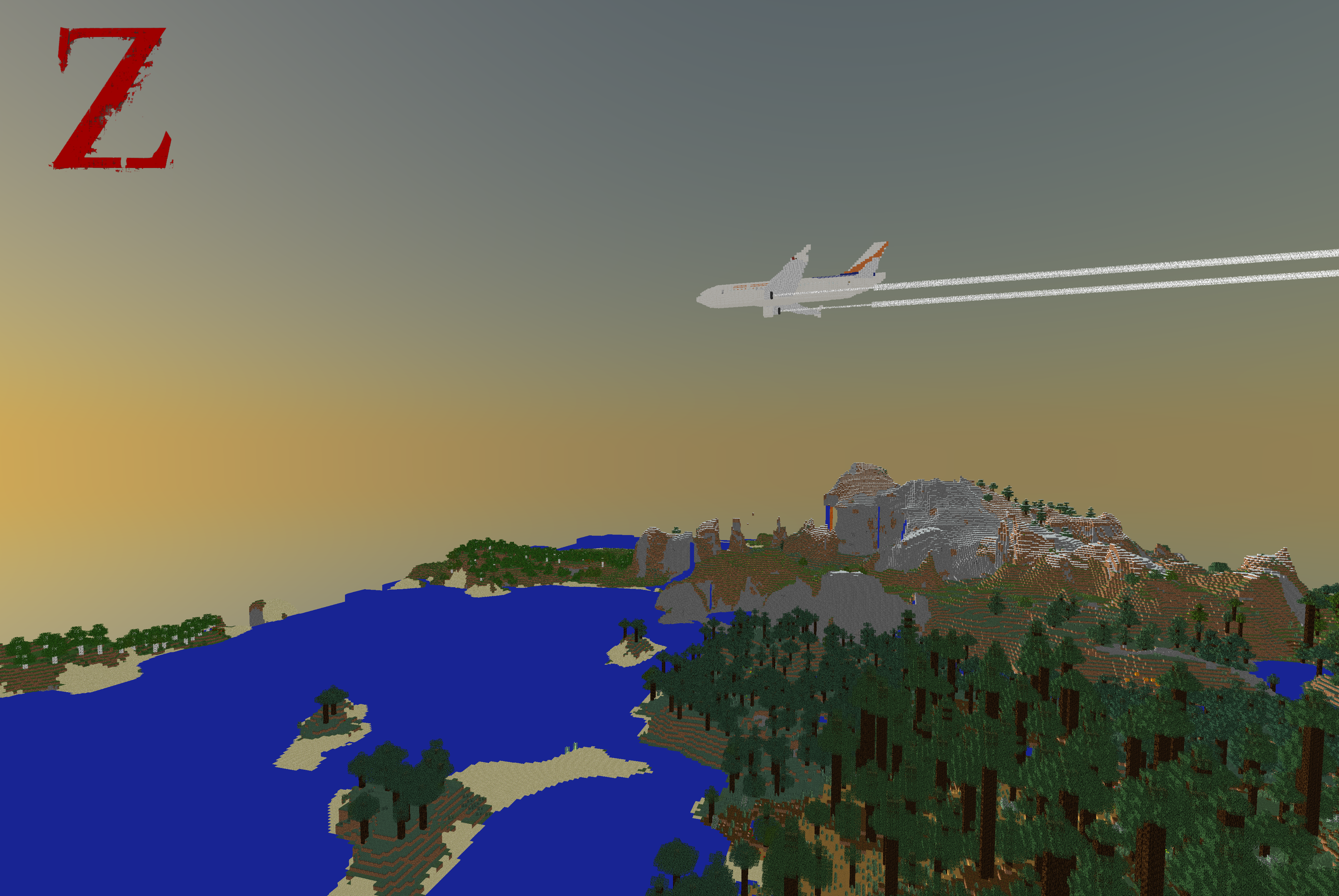 Airbus a310 300 world war z survival minecraft project undefined sciox Image collections