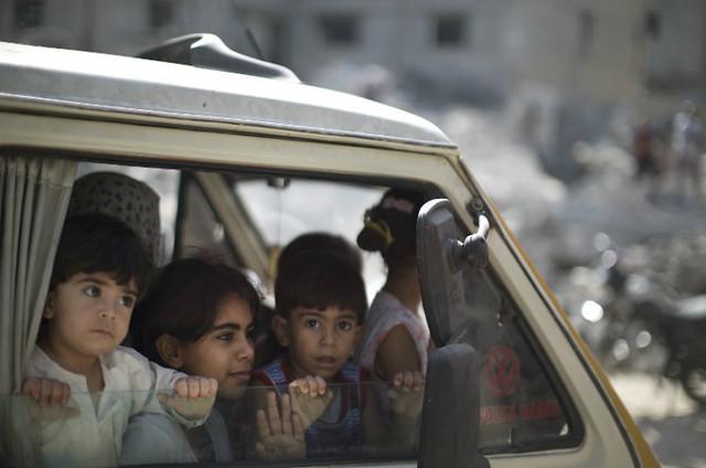 Mortes e desolação na Faixa de Gaza