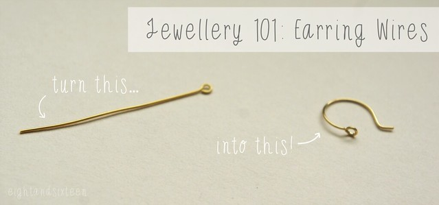 jewellery 101 turn eyepins headpins into earring wires