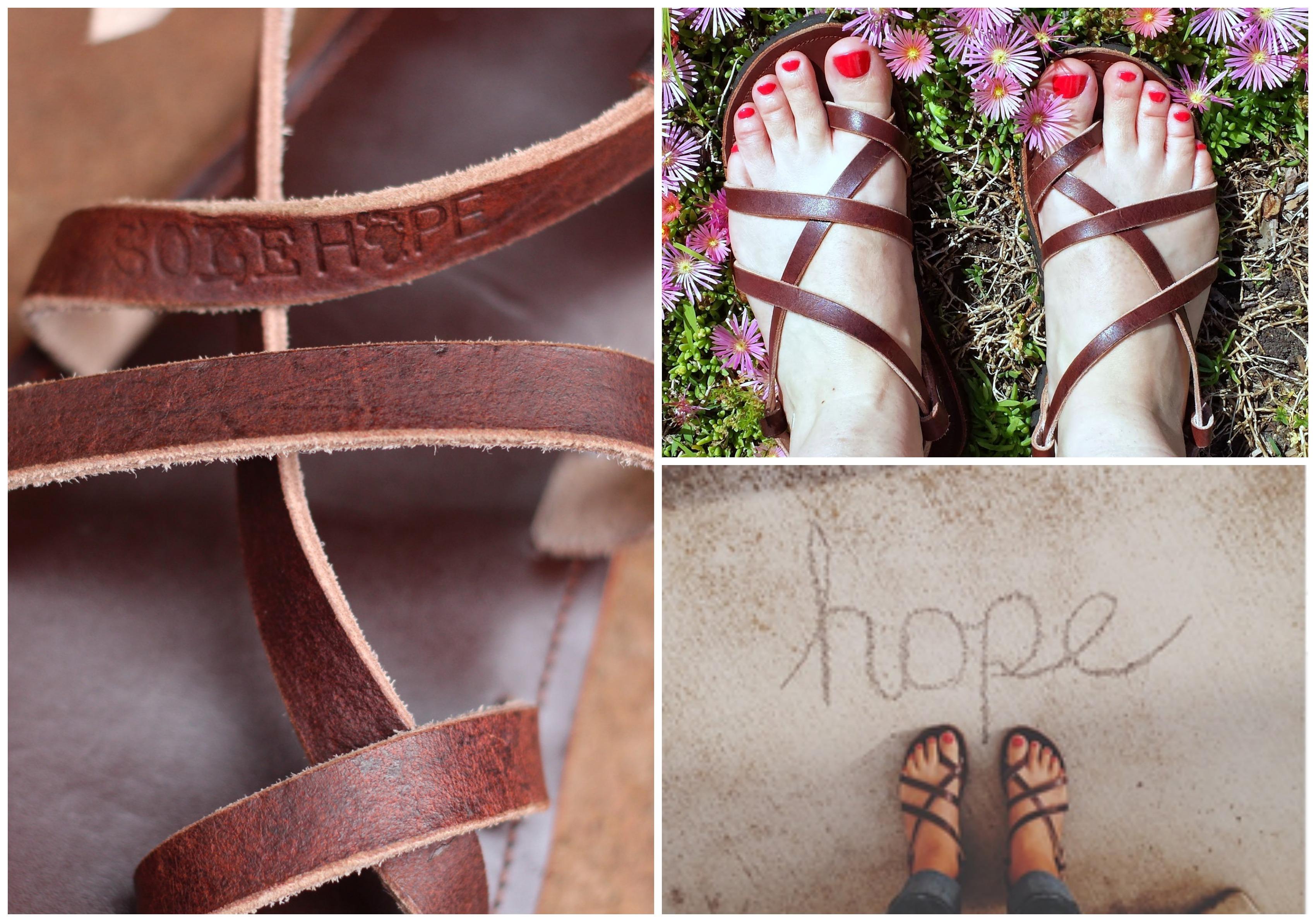 sandaler från  uganda