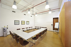 Hold your board meeting in our courtyard room