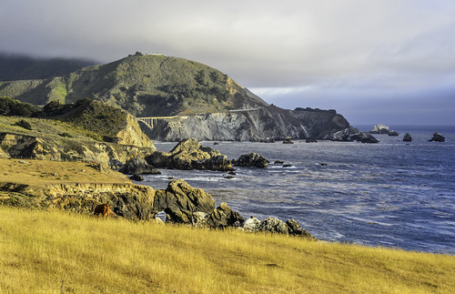 Big Sur Coastline by Geoff Livingston