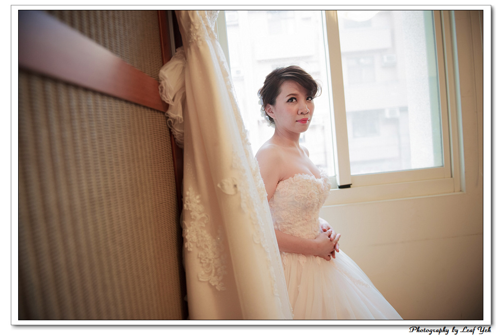 葉影瓶像。婚禮紀錄
