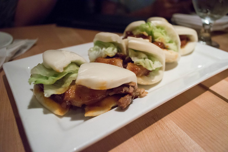 Pork Buns at Ippudo NY