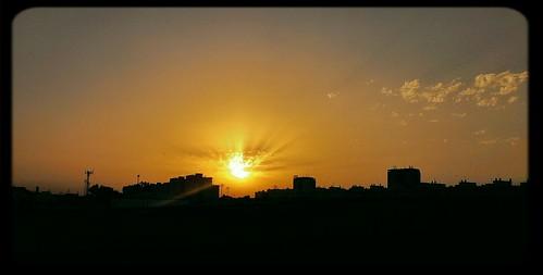 sunrise amanecer urbana