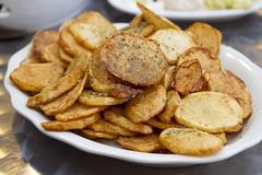 Greek Style Fried Potatoes