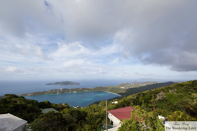 View of Margens Bay from Mountain Top
