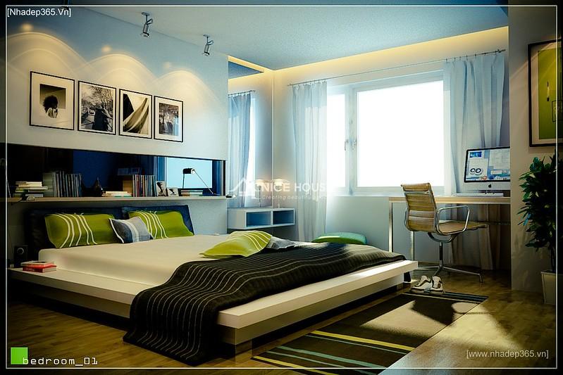 Thiết kế nội thất chung cư M5 - A Chiến_6