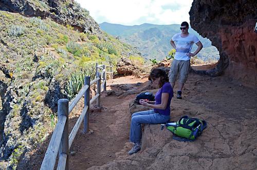 Shade in a cave, Anaga, Tenerife