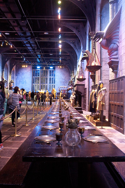 The Great Hall Harry Potter