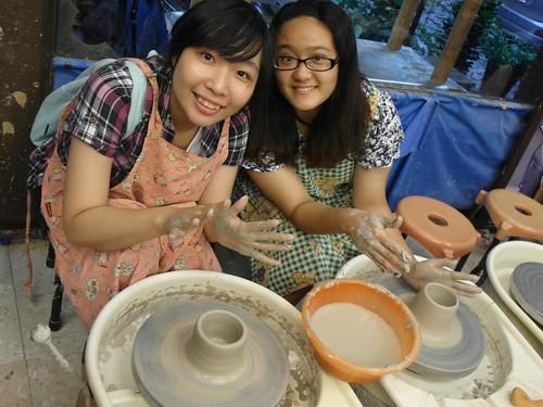 鶯歌自己動手做陶瓷 捏陶畫杯樣樣來14