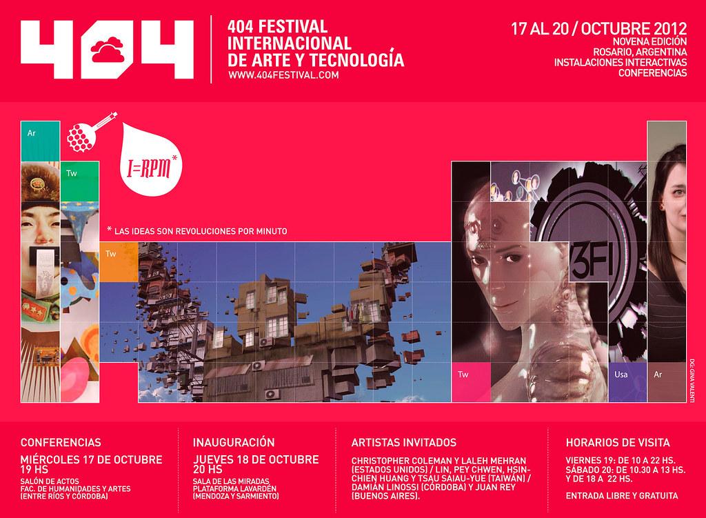 404 FESTIVAL OCT 2012 - ROSARIO, ARGENTINA