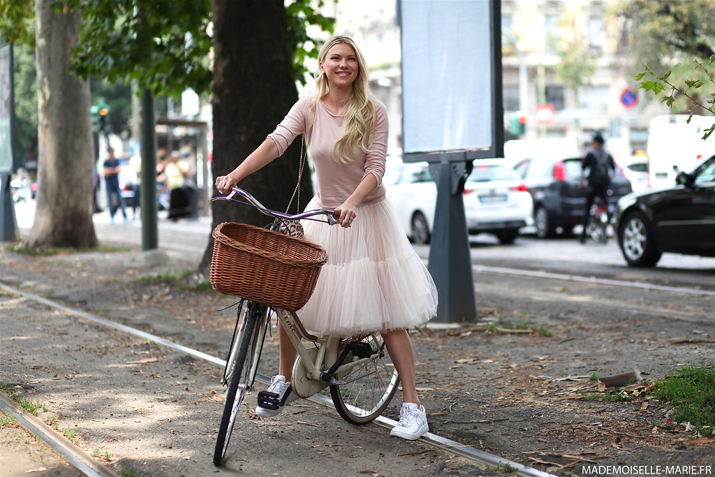 Zhanna Bianca at Milan Fashion week Menswear day 3