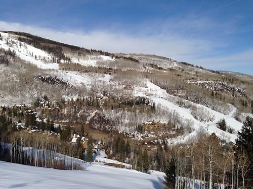 usa ski america colorado view resort snowboard beavercreek chairlift 美國 滑雪場