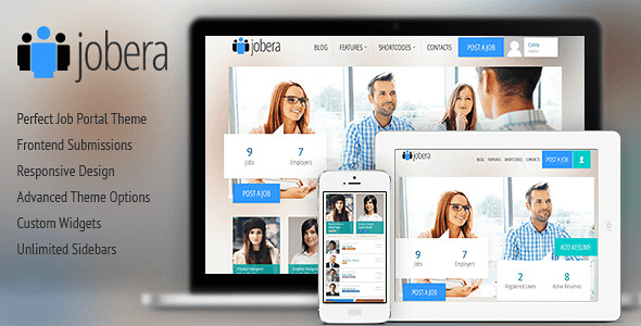 Jobera WordPress Theme free download