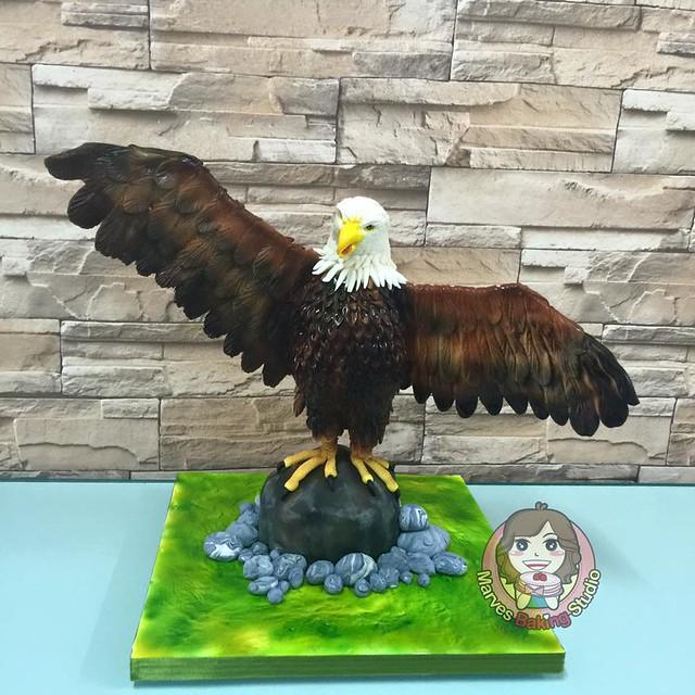 Bird Cake by Marves Baking Studio