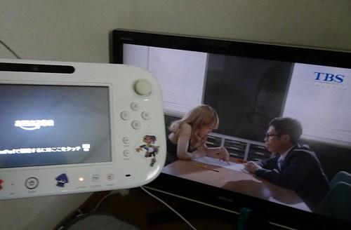 Wii U のAmazonビデオアプリ すぐにビデオが見ることができます