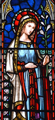 Blessed Virgin at the Annunciation (Lavers & Barraud, 1867)