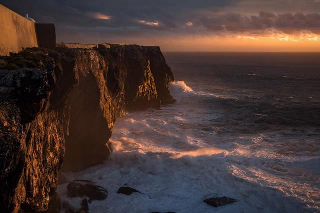 Algarve - darkness sets in