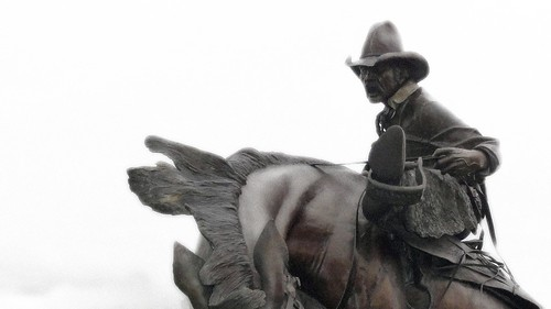 cowboy sepia
